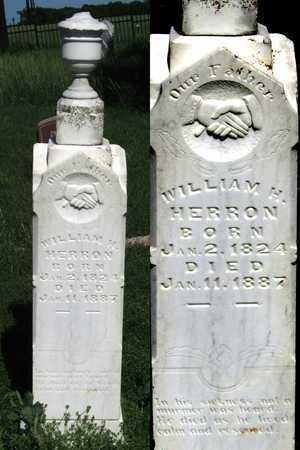 HERRON, WILLIAM H. - Collin County, Texas   WILLIAM H. HERRON - Texas Gravestone Photos