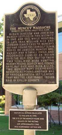 *HISTORICAL MARKER,  - Collin County, Texas    *HISTORICAL MARKER - Texas Gravestone Photos
