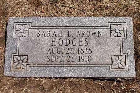 HODGES, SARAH E. - Collin County, Texas | SARAH E. HODGES - Texas Gravestone Photos