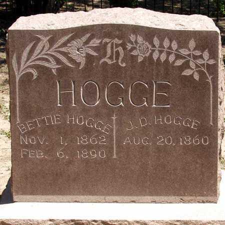 HOGGE, BETTIE - Collin County, Texas | BETTIE HOGGE - Texas Gravestone Photos