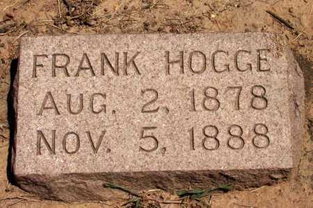 HOGGE, FRANK - Collin County, Texas | FRANK HOGGE - Texas Gravestone Photos