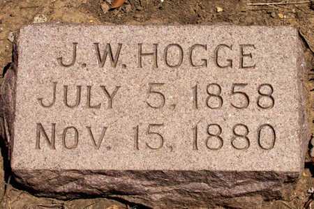 HOGGE, J. W. - Collin County, Texas   J. W. HOGGE - Texas Gravestone Photos
