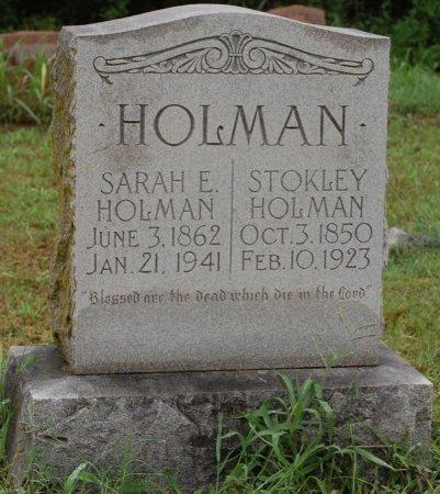 HOLMAN, SARAH EVALINE - Collin County, Texas | SARAH EVALINE HOLMAN - Texas Gravestone Photos