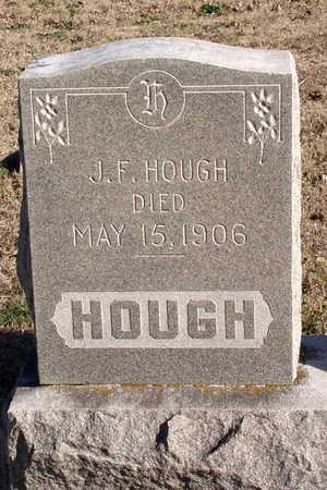 HOUGH, J. F. - Collin County, Texas   J. F. HOUGH - Texas Gravestone Photos