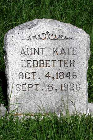 LEDBETTER, AUNT KATE - Collin County, Texas | AUNT KATE LEDBETTER - Texas Gravestone Photos
