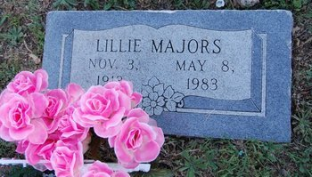 MAJORS, LILLIE - Collin County, Texas | LILLIE MAJORS - Texas Gravestone Photos