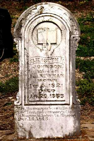 NEWMAN, ELIZABETH H. - Collin County, Texas | ELIZABETH H. NEWMAN - Texas Gravestone Photos