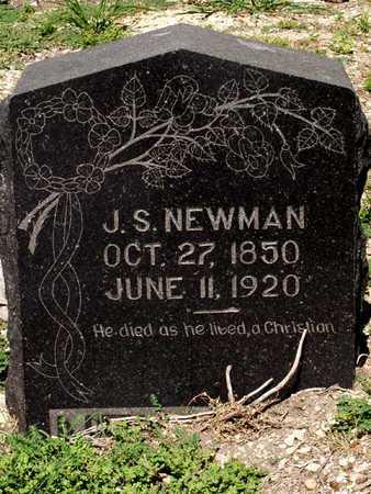 NEWMAN, J. S. - Collin County, Texas | J. S. NEWMAN - Texas Gravestone Photos