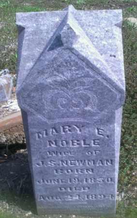 NEWMAN, MARY E. - Collin County, Texas | MARY E. NEWMAN - Texas Gravestone Photos