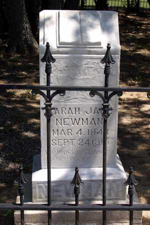 NEWMAN, SARAH JANE - Collin County, Texas | SARAH JANE NEWMAN - Texas Gravestone Photos
