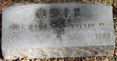 ODLE, ADA EARL - Collin County, Texas | ADA EARL ODLE - Texas Gravestone Photos