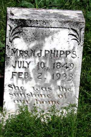 PHIPPS, N. J., MRS. - Collin County, Texas | N. J., MRS. PHIPPS - Texas Gravestone Photos