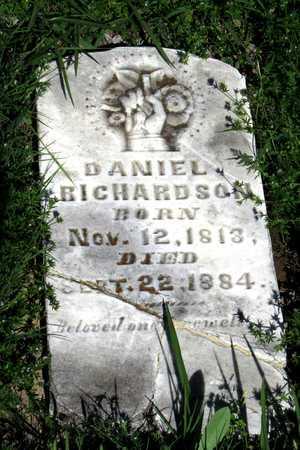 RICHARDSON, DANIEL - Collin County, Texas | DANIEL RICHARDSON - Texas Gravestone Photos