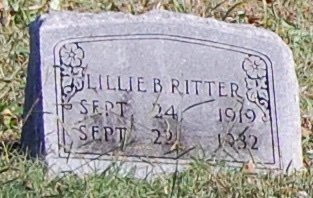 RITTER, LILLIE BELLE - Collin County, Texas   LILLIE BELLE RITTER - Texas Gravestone Photos