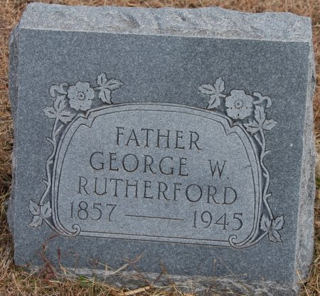 RUTHERFORD, GEORGE W. - Collin County, Texas | GEORGE W. RUTHERFORD - Texas Gravestone Photos