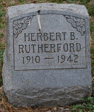 RUTHERFORD, HERBERT BENBROOK - Collin County, Texas | HERBERT BENBROOK RUTHERFORD - Texas Gravestone Photos