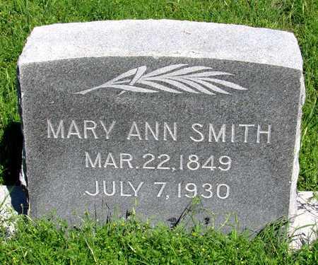 SMITH, MARY ANN - Collin County, Texas | MARY ANN SMITH - Texas Gravestone Photos