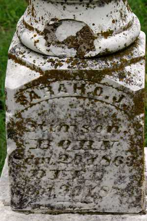 STIMSON, SARAH O. J. (CLOSEUP) - Collin County, Texas | SARAH O. J. (CLOSEUP) STIMSON - Texas Gravestone Photos