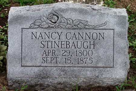CANNON STINEBAUGH, NANCY - Collin County, Texas | NANCY CANNON STINEBAUGH - Texas Gravestone Photos