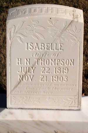 THOMPSON, ISABELLE - Collin County, Texas   ISABELLE THOMPSON - Texas Gravestone Photos