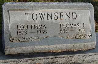 CUPP TOWNSEN, LOU EMMA - Collin County, Texas   LOU EMMA CUPP TOWNSEN - Texas Gravestone Photos