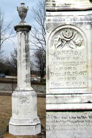 WHISENANT, CANZADA - Collin County, Texas   CANZADA WHISENANT - Texas Gravestone Photos