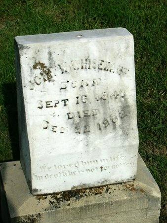 WHISENANT, JOHN W - Collin County, Texas | JOHN W WHISENANT - Texas Gravestone Photos