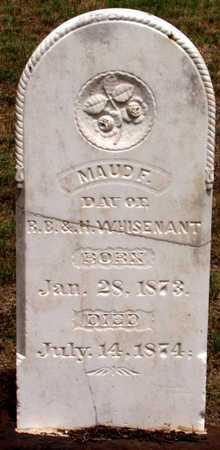 WHISENANT, MAUD F. - Collin County, Texas | MAUD F. WHISENANT - Texas Gravestone Photos