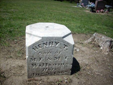 WILLIAMS, HENRY T - Collin County, Texas   HENRY T WILLIAMS - Texas Gravestone Photos