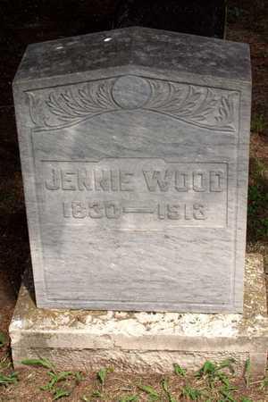 WOOD, JENNIE - Collin County, Texas | JENNIE WOOD - Texas Gravestone Photos