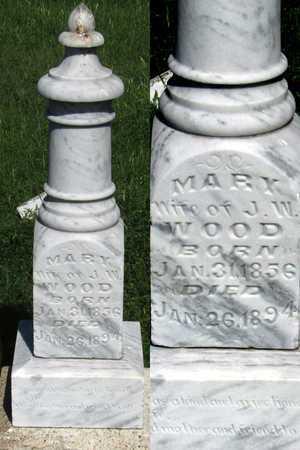 WOOD, MARY - Collin County, Texas | MARY WOOD - Texas Gravestone Photos
