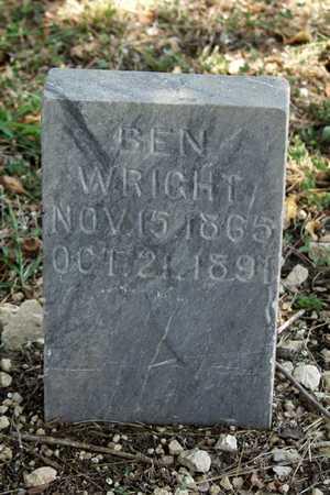 WRIGHT, BEN - Collin County, Texas | BEN WRIGHT - Texas Gravestone Photos