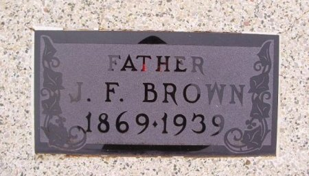 BROWN, JOHN FRANKLIN - Collingsworth County, Texas | JOHN FRANKLIN BROWN - Texas Gravestone Photos