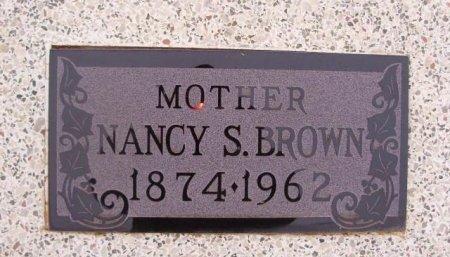 "BROWN, NANCY SITTLE ""NAN"" - Collingsworth County, Texas | NANCY SITTLE ""NAN"" BROWN - Texas Gravestone Photos"