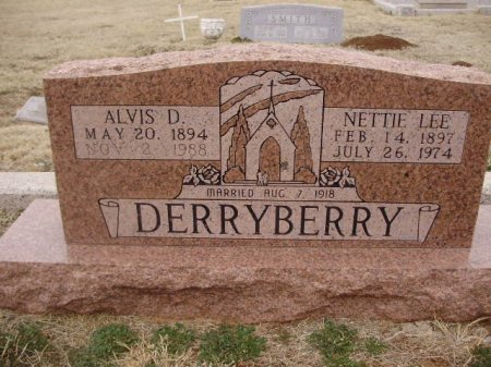 DERRYBERRY, NETTIE LEE - Collingsworth County, Texas | NETTIE LEE DERRYBERRY - Texas Gravestone Photos