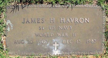 HAVRON (VETERAN WWII), JAMES H. - Collingsworth County, Texas | JAMES H. HAVRON (VETERAN WWII) - Texas Gravestone Photos