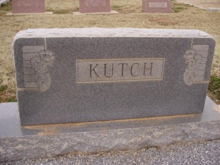 KUTCH, FAMILY STONE - Collingsworth County, Texas | FAMILY STONE KUTCH - Texas Gravestone Photos
