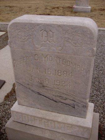 MONTGOMERY, ROBERT CARROL - Collingsworth County, Texas | ROBERT CARROL MONTGOMERY - Texas Gravestone Photos