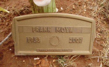 MOYA, FRANK - Collingsworth County, Texas | FRANK MOYA - Texas Gravestone Photos