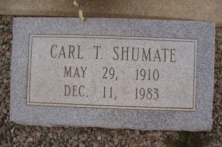 SHUMATE, CARL THOMAS - Collingsworth County, Texas | CARL THOMAS SHUMATE - Texas Gravestone Photos