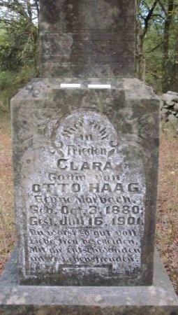 HAAG, CLARA (CLOSE UP) - Comal County, Texas | CLARA (CLOSE UP) HAAG - Texas Gravestone Photos