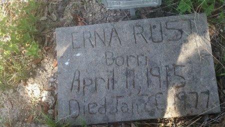 RUST, ERNA - Comal County, Texas | ERNA RUST - Texas Gravestone Photos