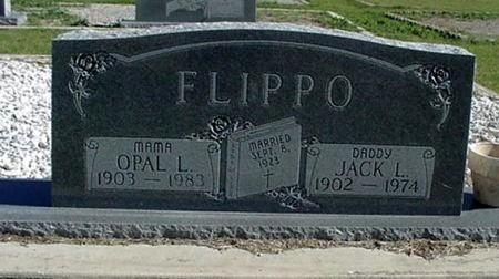 FLIPPO, JACK LOYD - Comanche County, Texas | JACK LOYD FLIPPO - Texas Gravestone Photos