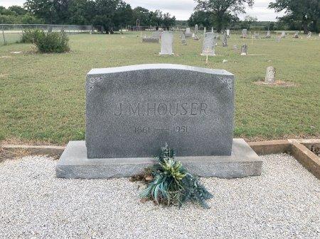 HOUSER, J. M. - Comanche County, Texas | J. M. HOUSER - Texas Gravestone Photos