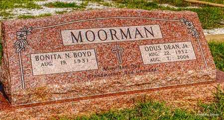 MOORMAN, JR, ODUS DEAN - Comanche County, Texas | ODUS DEAN MOORMAN, JR - Texas Gravestone Photos