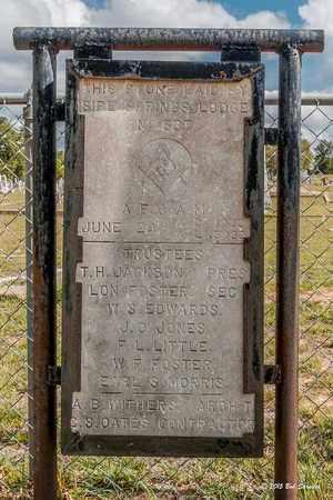 *SIPE SPRINGS MASONIC LODGE,  - Comanche County, Texas |  *SIPE SPRINGS MASONIC LODGE - Texas Gravestone Photos
