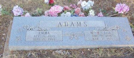 ADAMS, EMMA MELINDA - Cooke County, Texas   EMMA MELINDA ADAMS - Texas Gravestone Photos