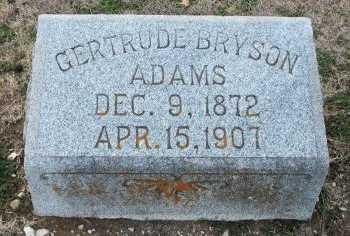 ADAMS, GERTRUDE LEE - Cooke County, Texas | GERTRUDE LEE ADAMS - Texas Gravestone Photos