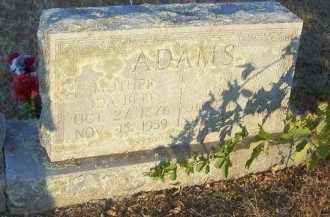 ADAMS, EDKER MILES - Cooke County, Texas | EDKER MILES ADAMS - Texas Gravestone Photos