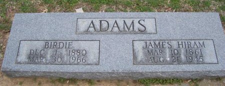 ADAMS, BIRDIE - Cooke County, Texas   BIRDIE ADAMS - Texas Gravestone Photos